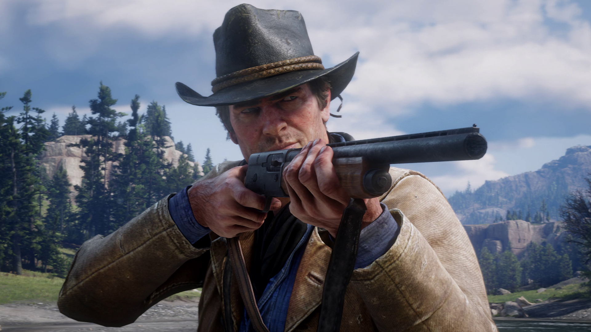 Red Dead Redemption 2 PS4 Pro First Look: Gameplay Trailer