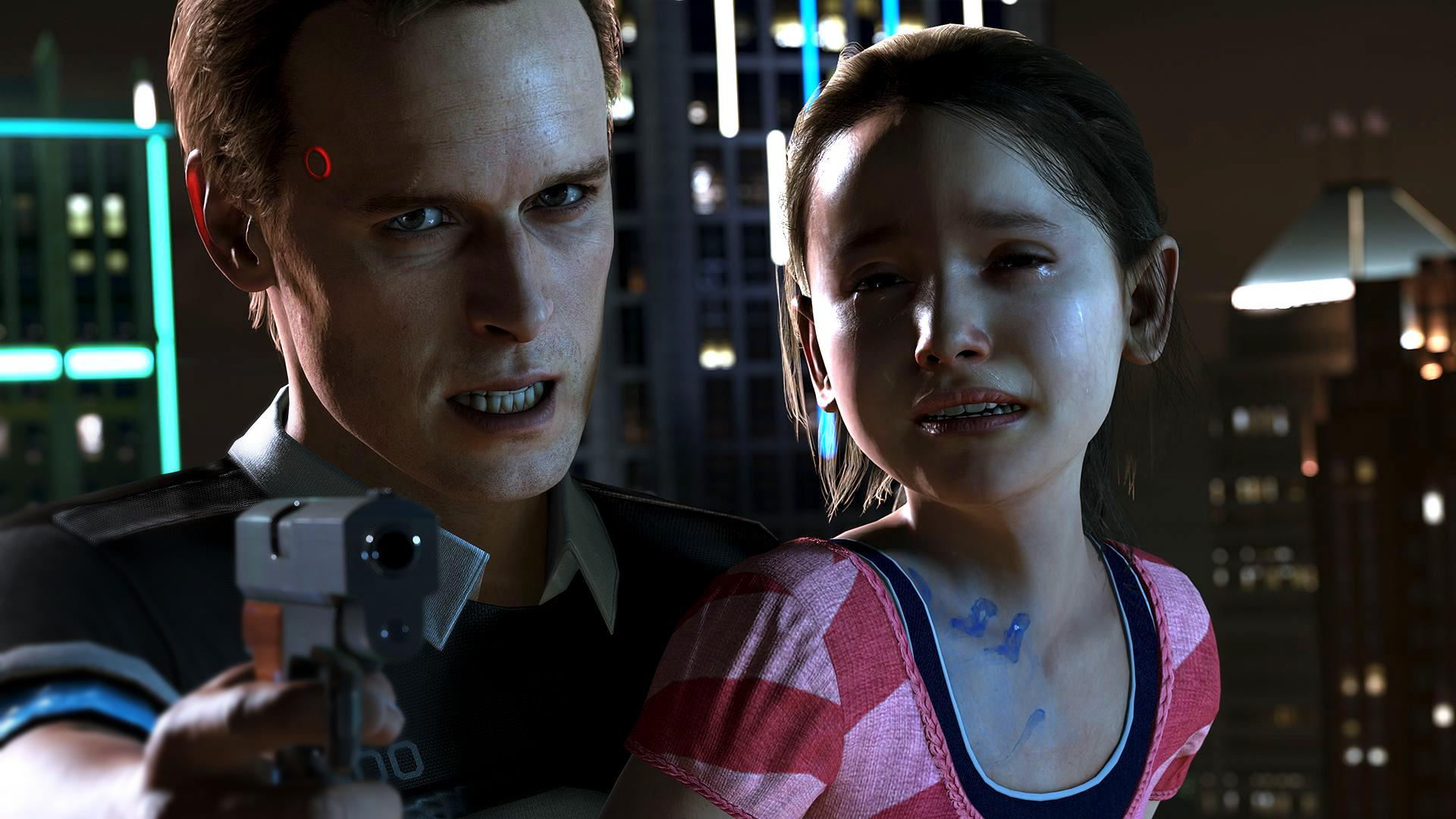 4k Hdr Detroit Become Human Ps4 Pro Gameplay