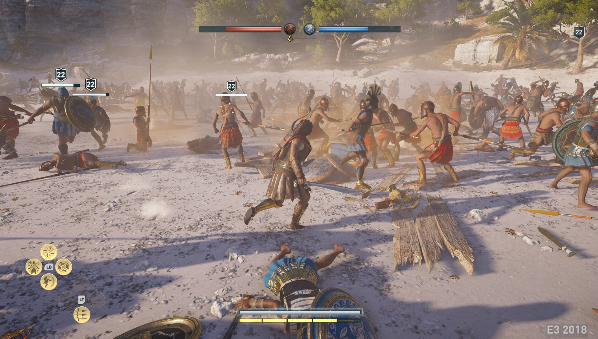 Assassin S Creed Odyssey How To Parry An Attack Usgamer