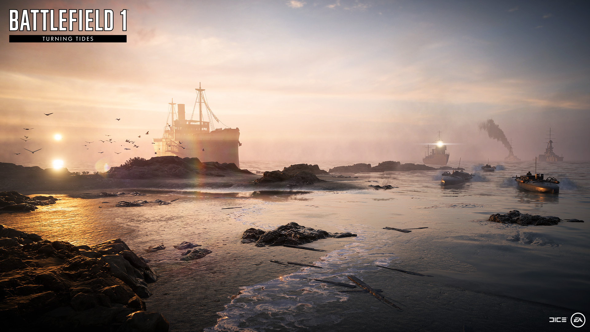 Battlefield 1 and 4 DLC Goes Free on the Road to Battlefield