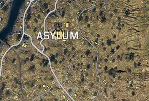 There Very Little Foliage To Be Seen And Its Situated Right At The East Of Map Asylum Was A In Call Duty