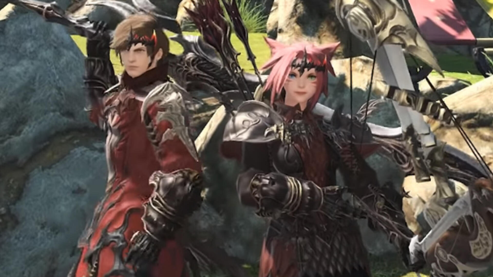 Final Fantasy XIV Players Can Grab Monster Hunter World's