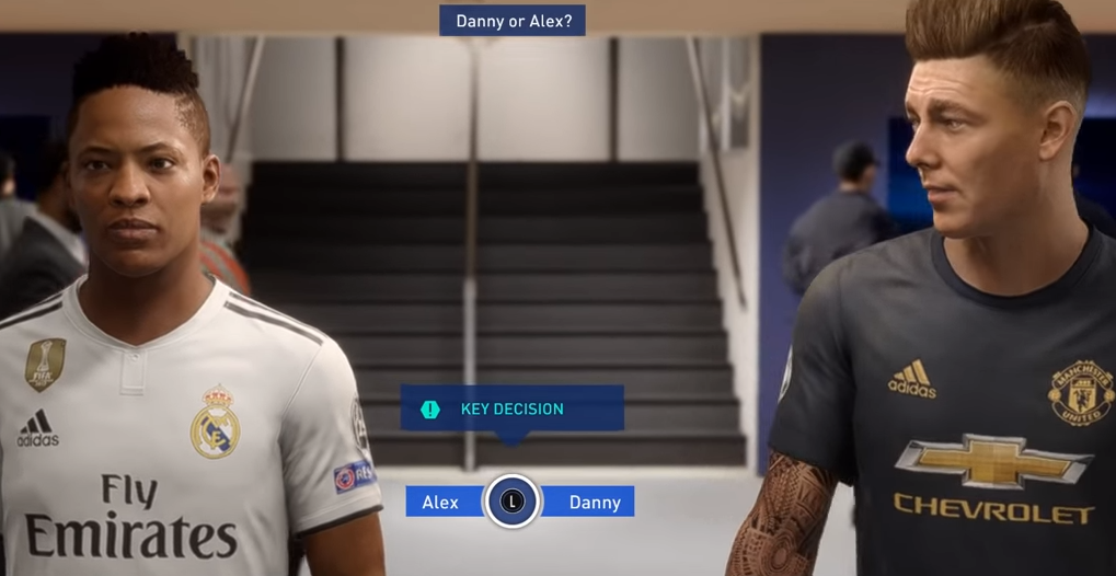 finest selection ec85d 45ab5 FIFA 19 The Journey Choices - Rewards, Key Decisions | USgamer