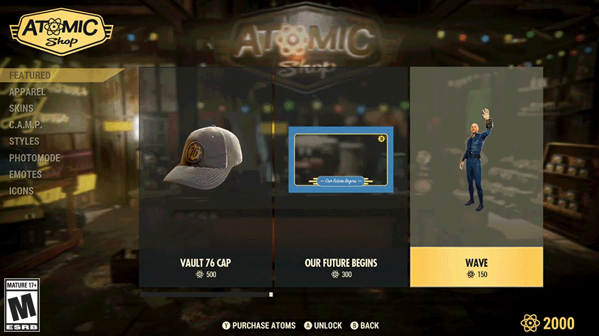 Fallout 76 Atoms - How to Get Atoms, Atomic Shop, Does Fallout 76