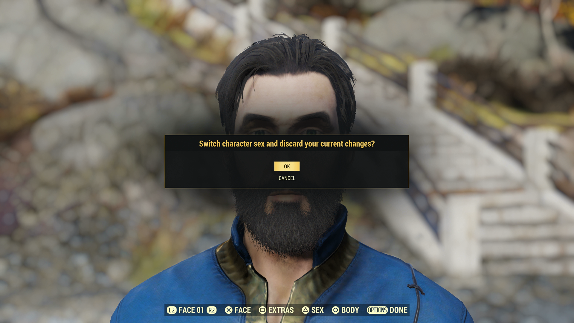fallout 4 console command change looks