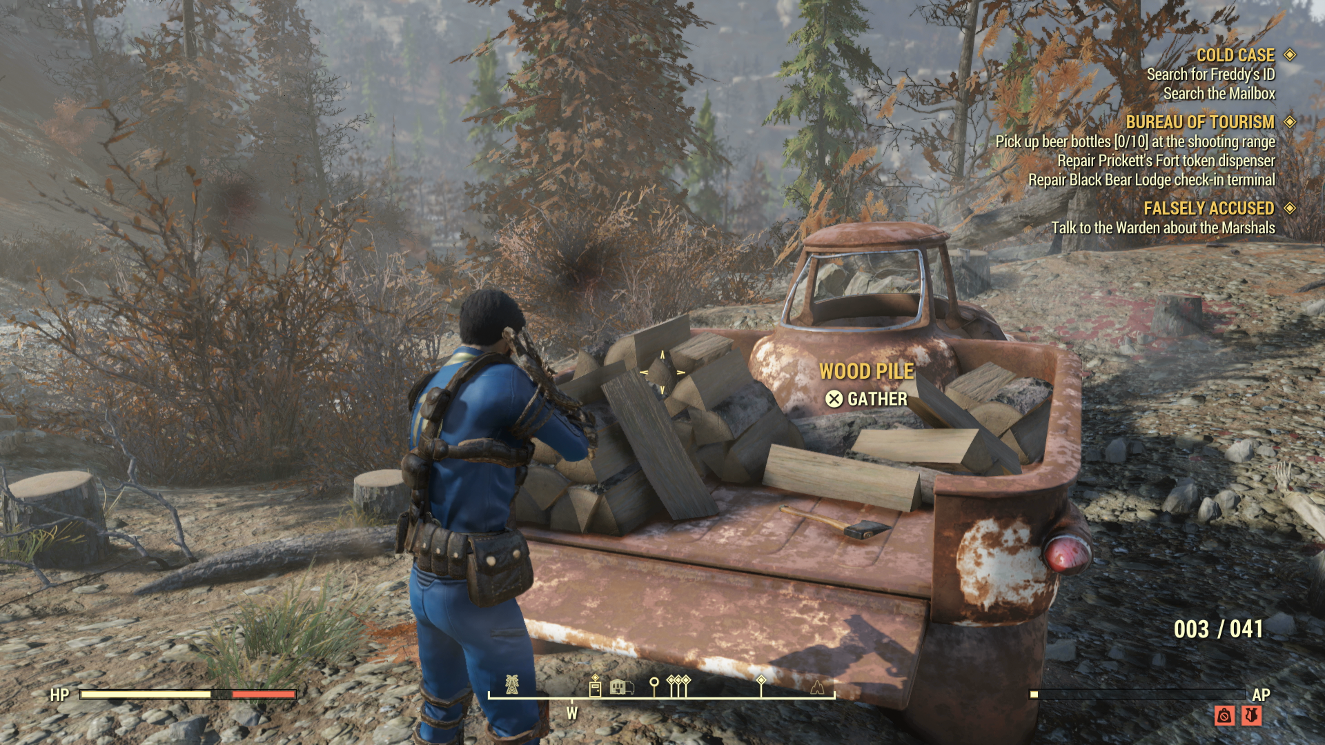 Fallout 76 Wood Farming Locations - Best Ways to Get Wood Fast and