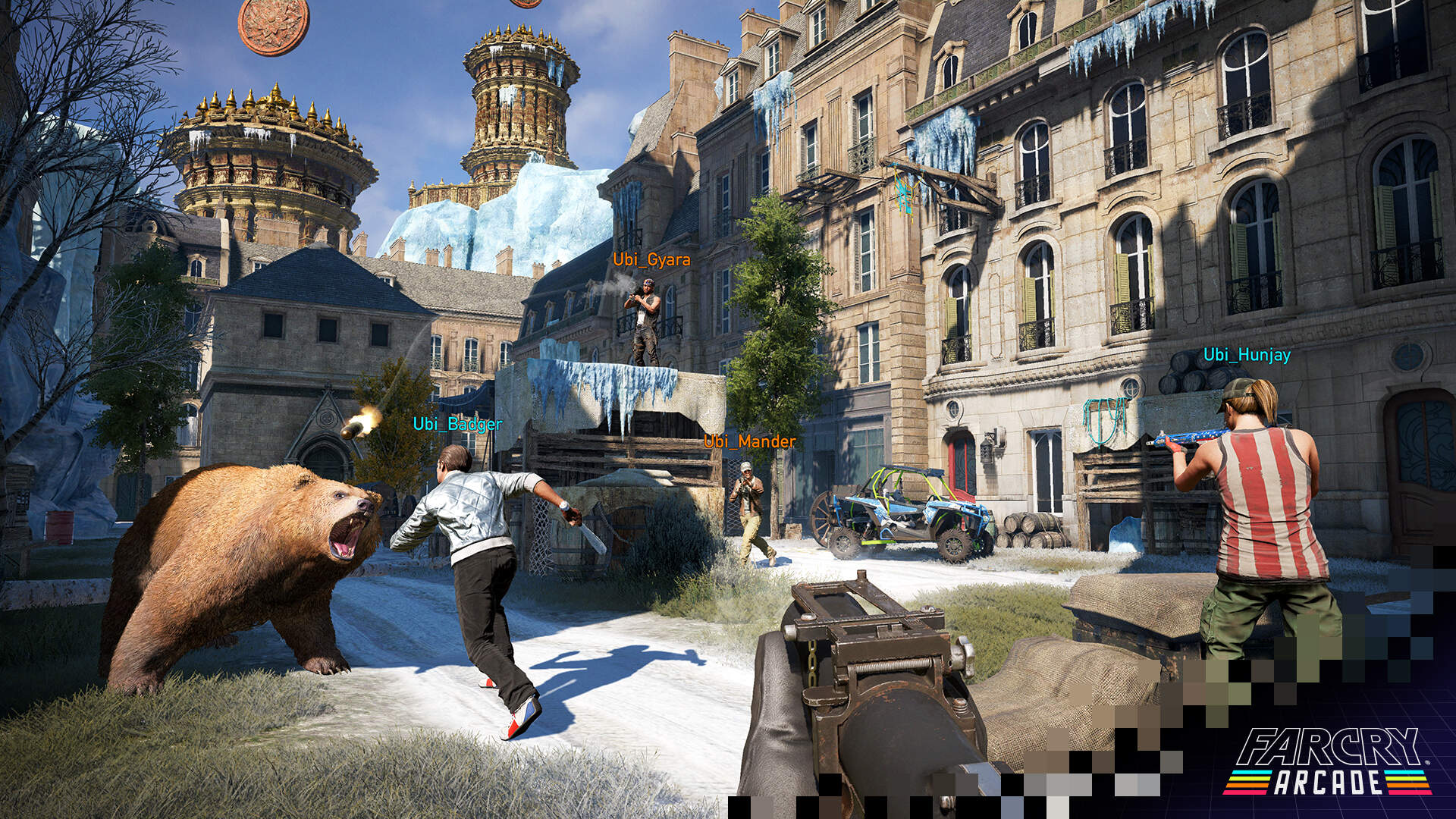 Play Pubg In Far Cry 5 Arcade Thanks To This Custom Map Usgamer