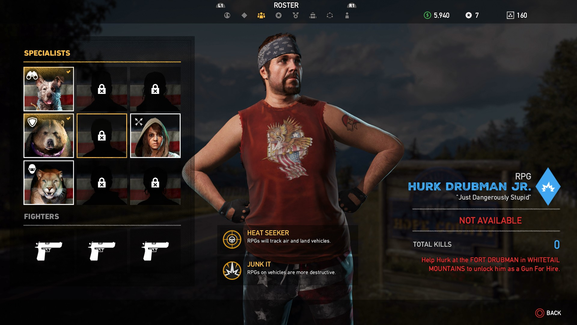 Far Cry 5 Guns For Hire Best Guns For Hire Recruits And How Do You Get Them Fangs For Hire And Fighters Usgamer
