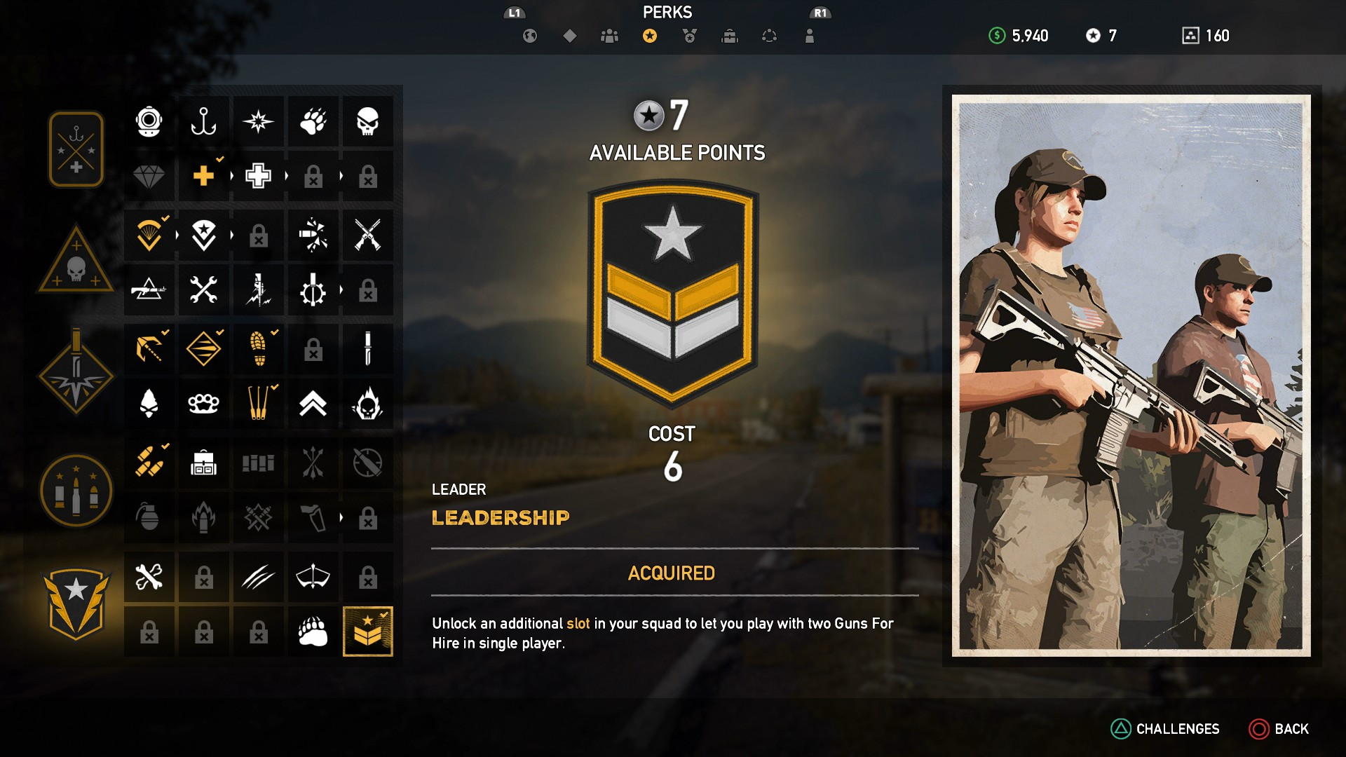 Far Cry 5 Perks Best Perks To Unlock In Far Cry 5 And How To Earn Perk Points Usgamer