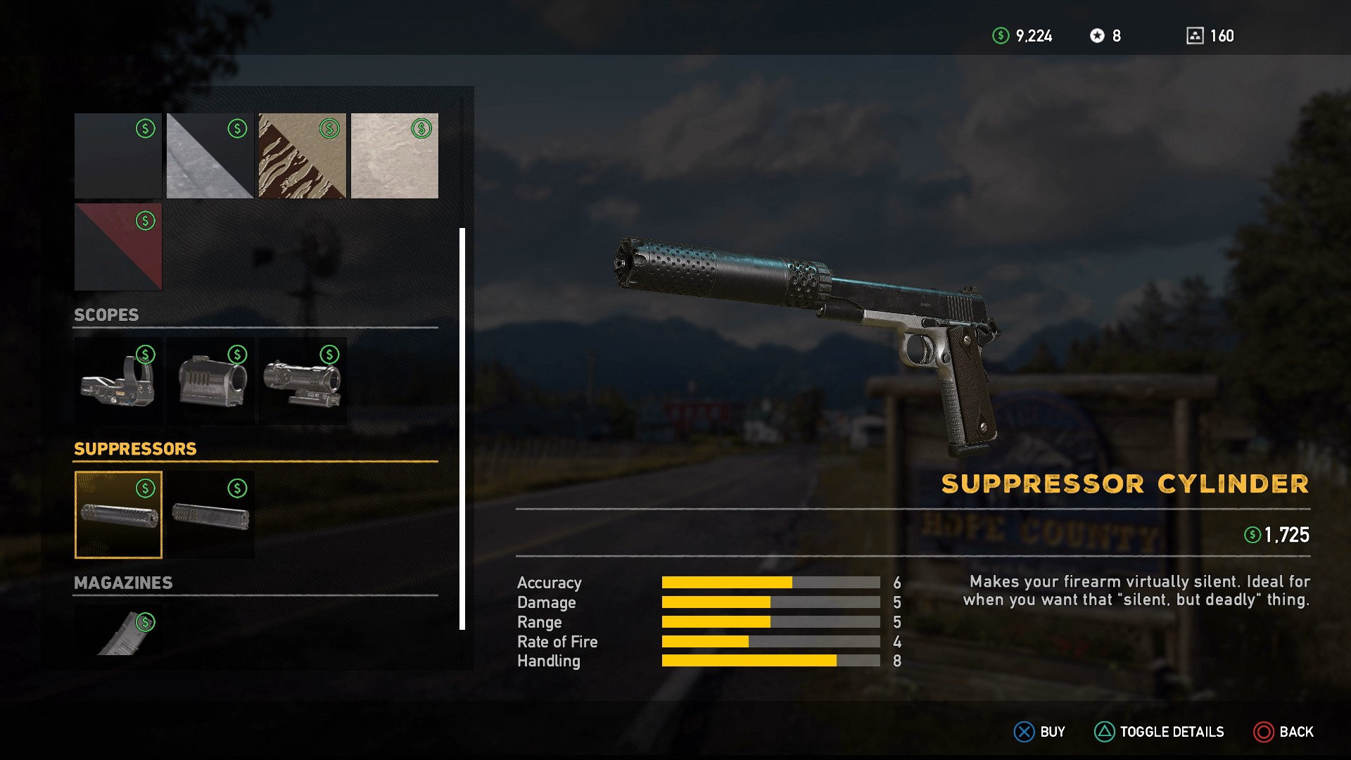 Far Cry 5 Weapons - Far Cry 5 Weapon Upgrades and Explosive