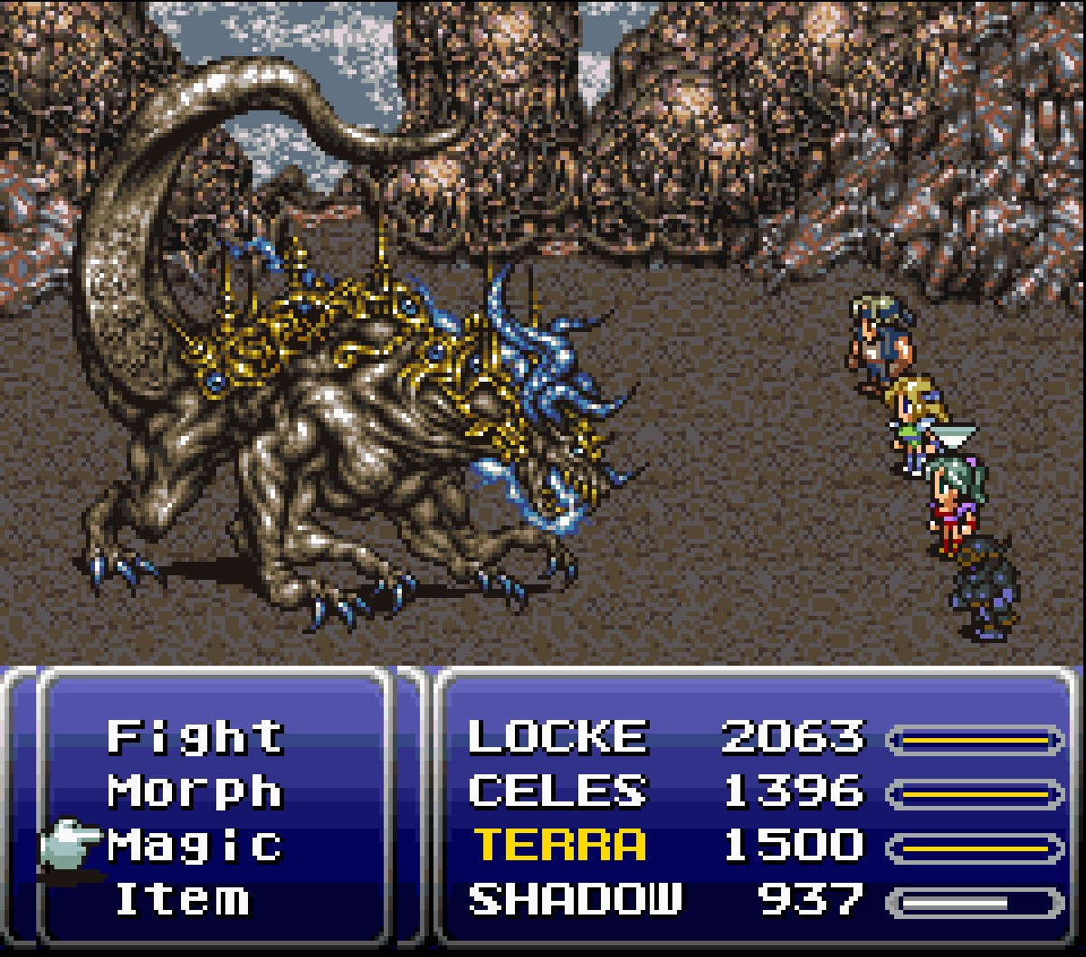 Happy Anniversary To Final Fantasy Vi Square Enix S First Rpg For