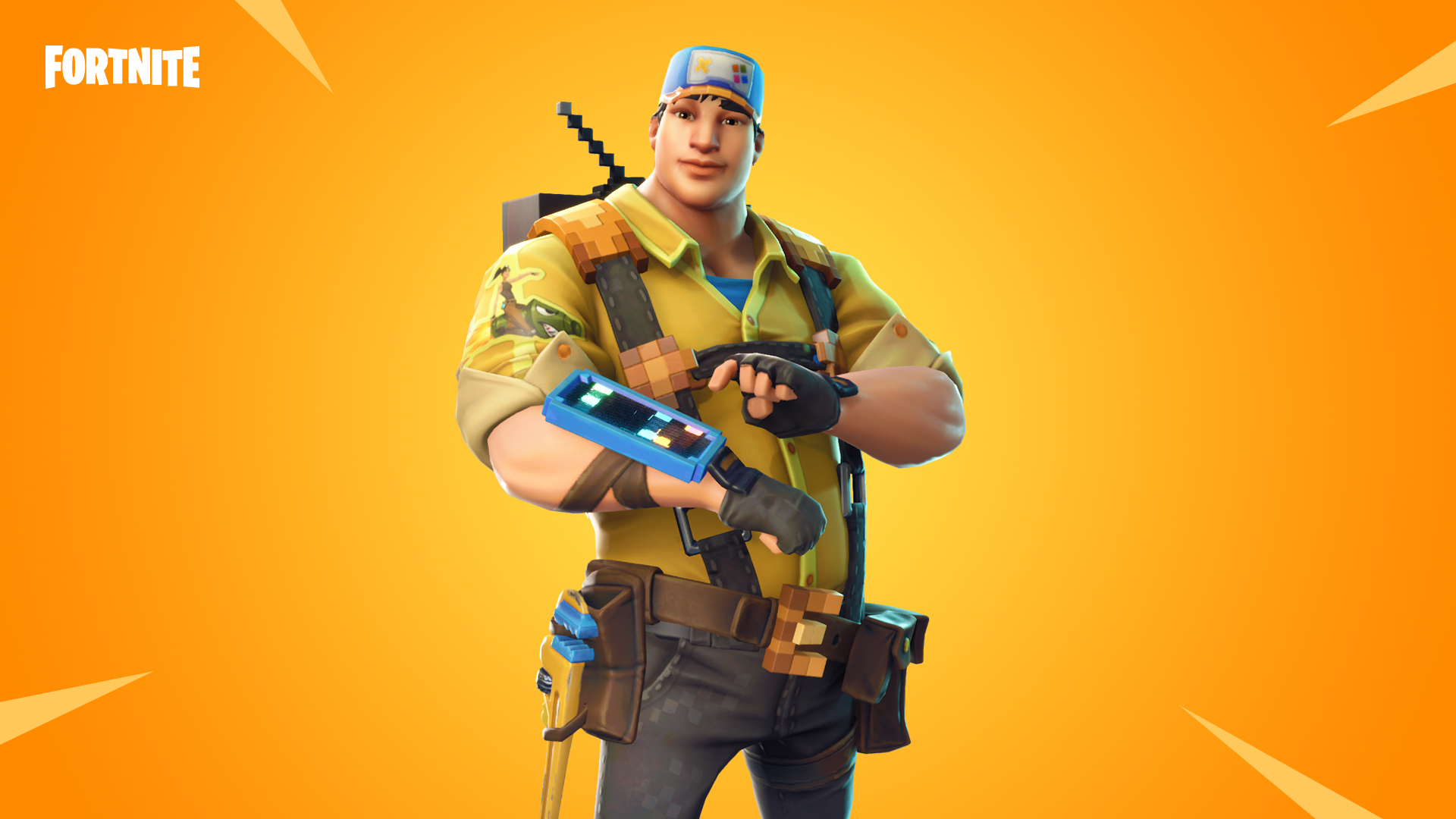 other changes and additions in the v4 4 content update include the 8 bit demo in save the world and tweaks to the rocket launcher s reload time - fortnite update v4 5