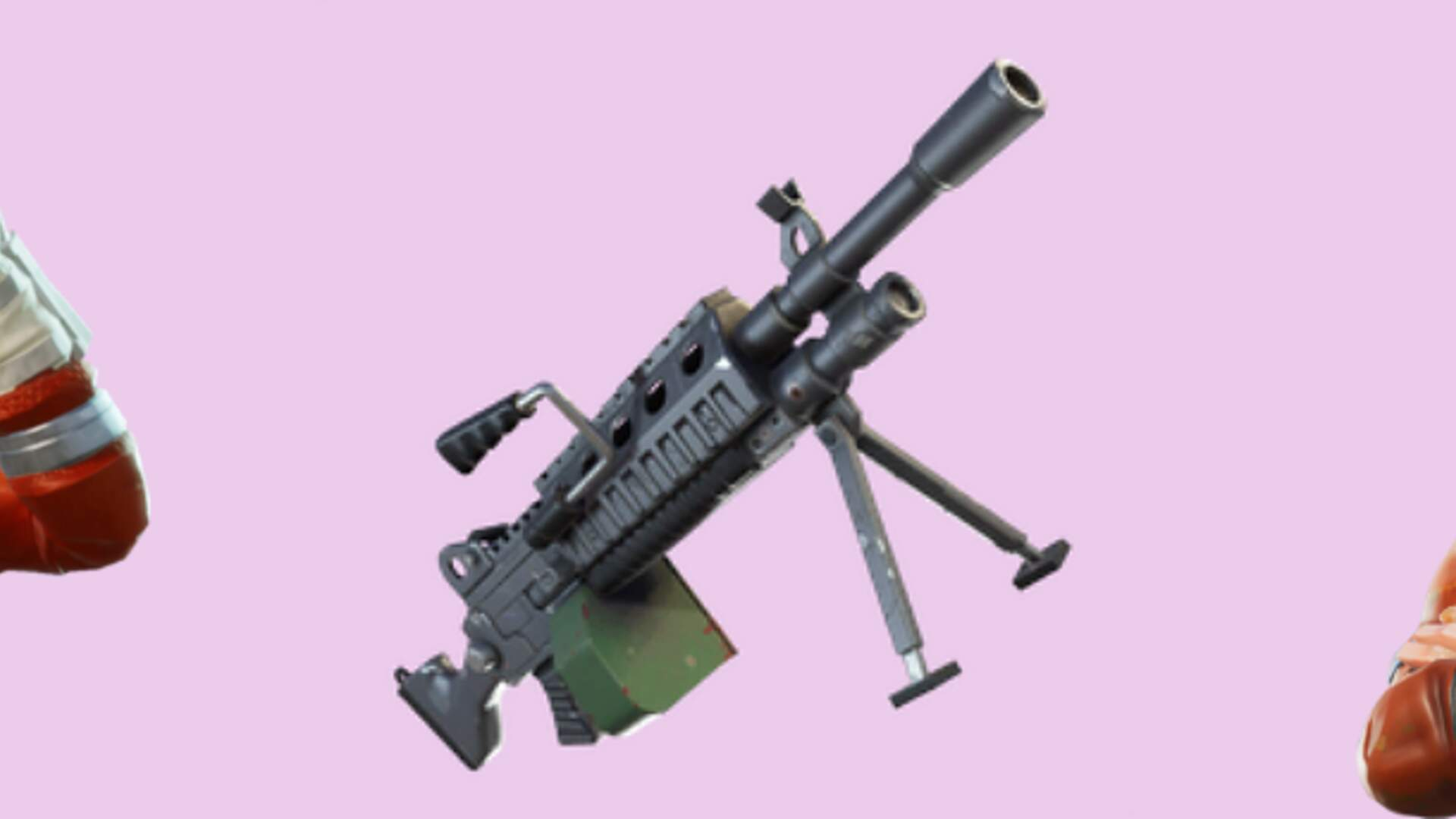 New Fortnite LMG out now for Battle Royale