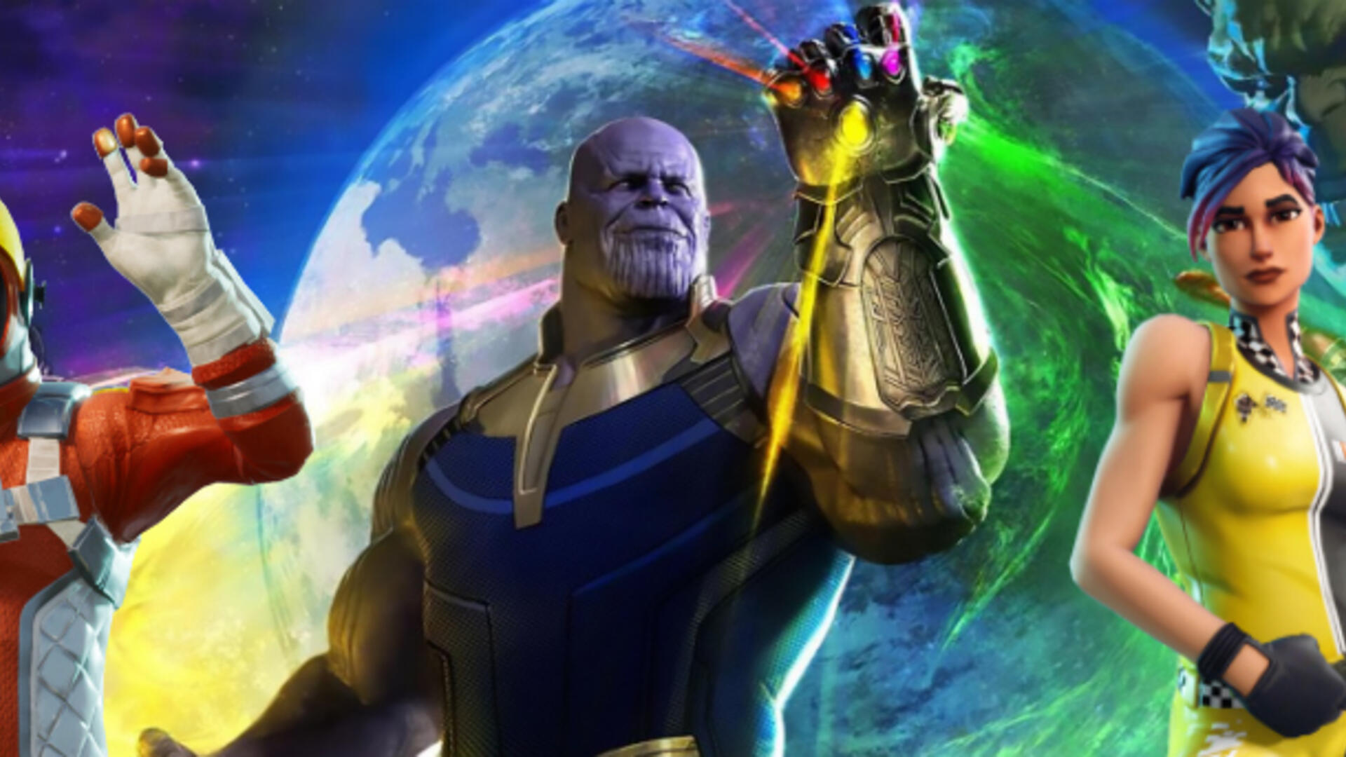 Fortnite Battle Royale Adds Infinity War's Thanos in Limited Time Mode