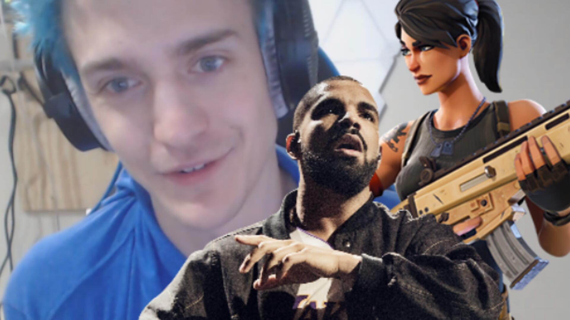 Fortnite Battle Royale's Ninja Teams up with Drake and Travis Scott, Smashes Twitch Stream Record