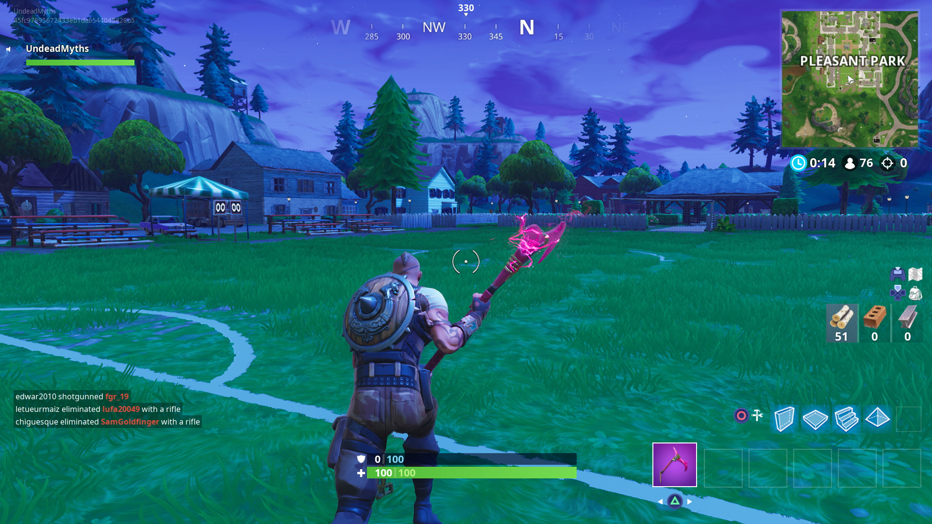 Fortnite Pleasant Park Chests Locations