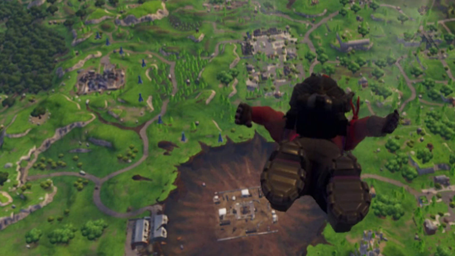 Tilted Towers Survives Fortnite Battle Royale's Meteor-Made Map Changes