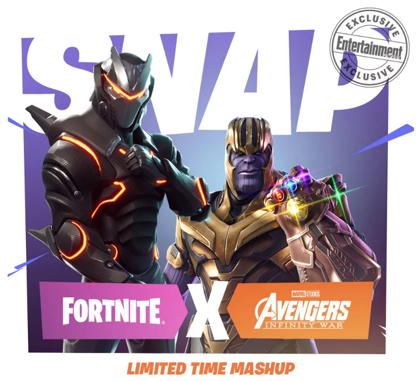 Fortnite Battle Royale Adds Infinity War's Thanos in Limited