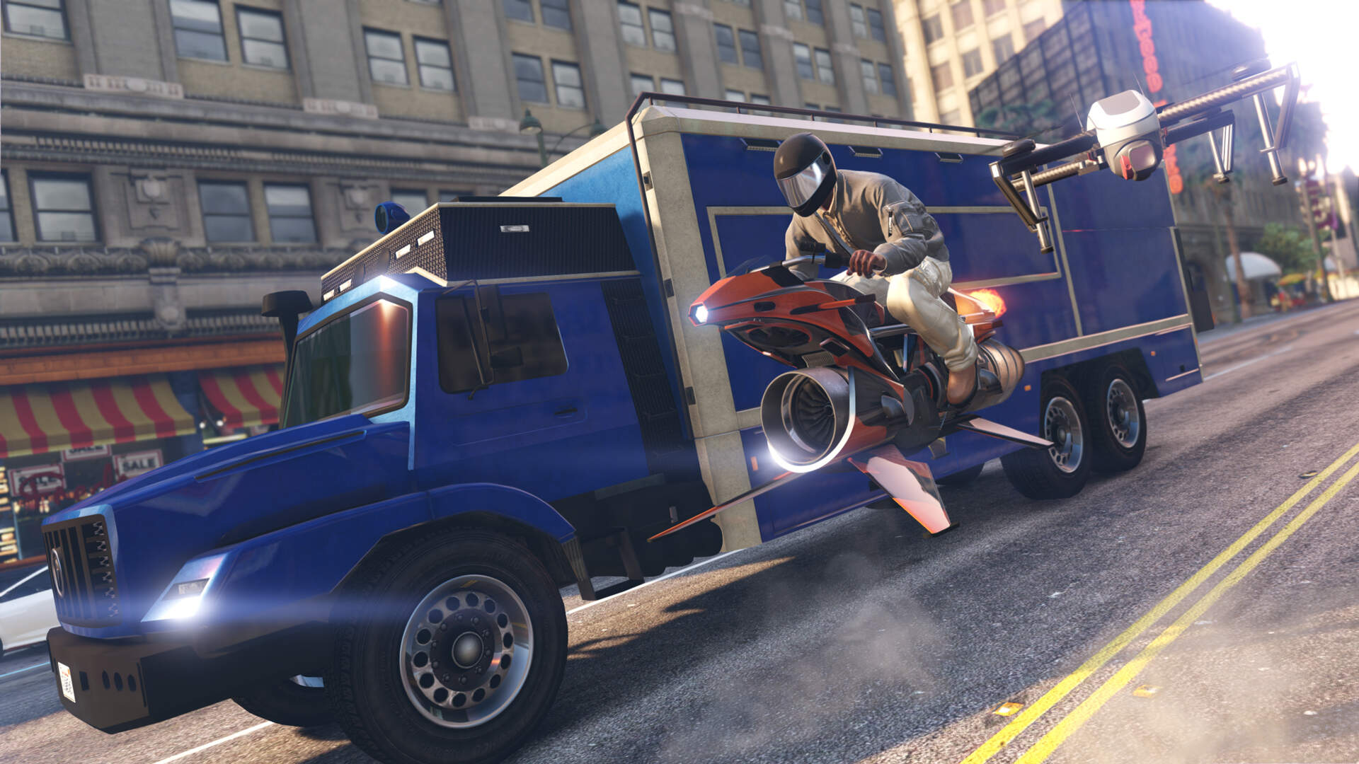 How GTA Online Went From a Straightforward Crime Sandbox to Land of the Impossible