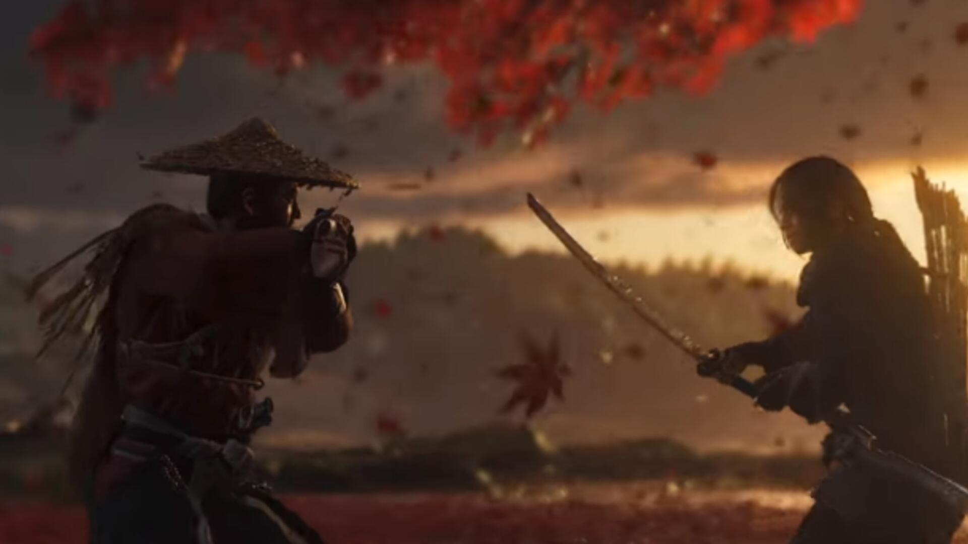 Ghost of Tsushima Trailer Shows Off Some Beautiful Art Direction