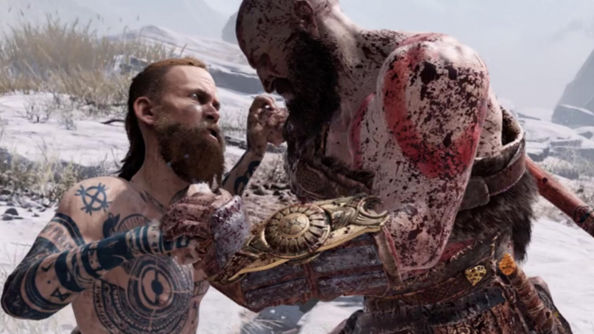 God of War's First Fight Against The Stranger is One of the Best Action Sequences in Years