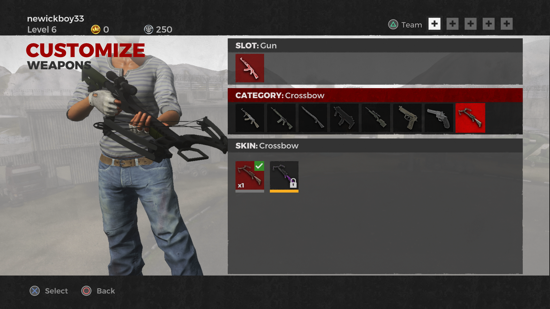 h1z1 ps4 how to get skins