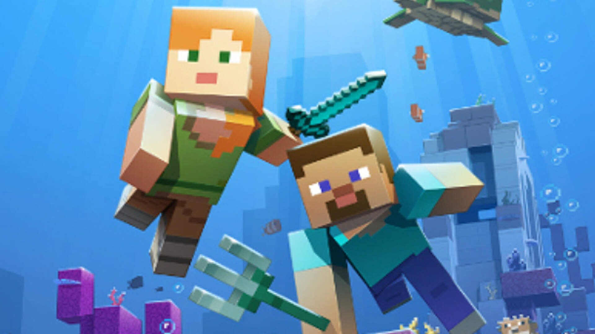 Minecraft Aquatic Update Phase Two is Out, Now With Underwater Undead