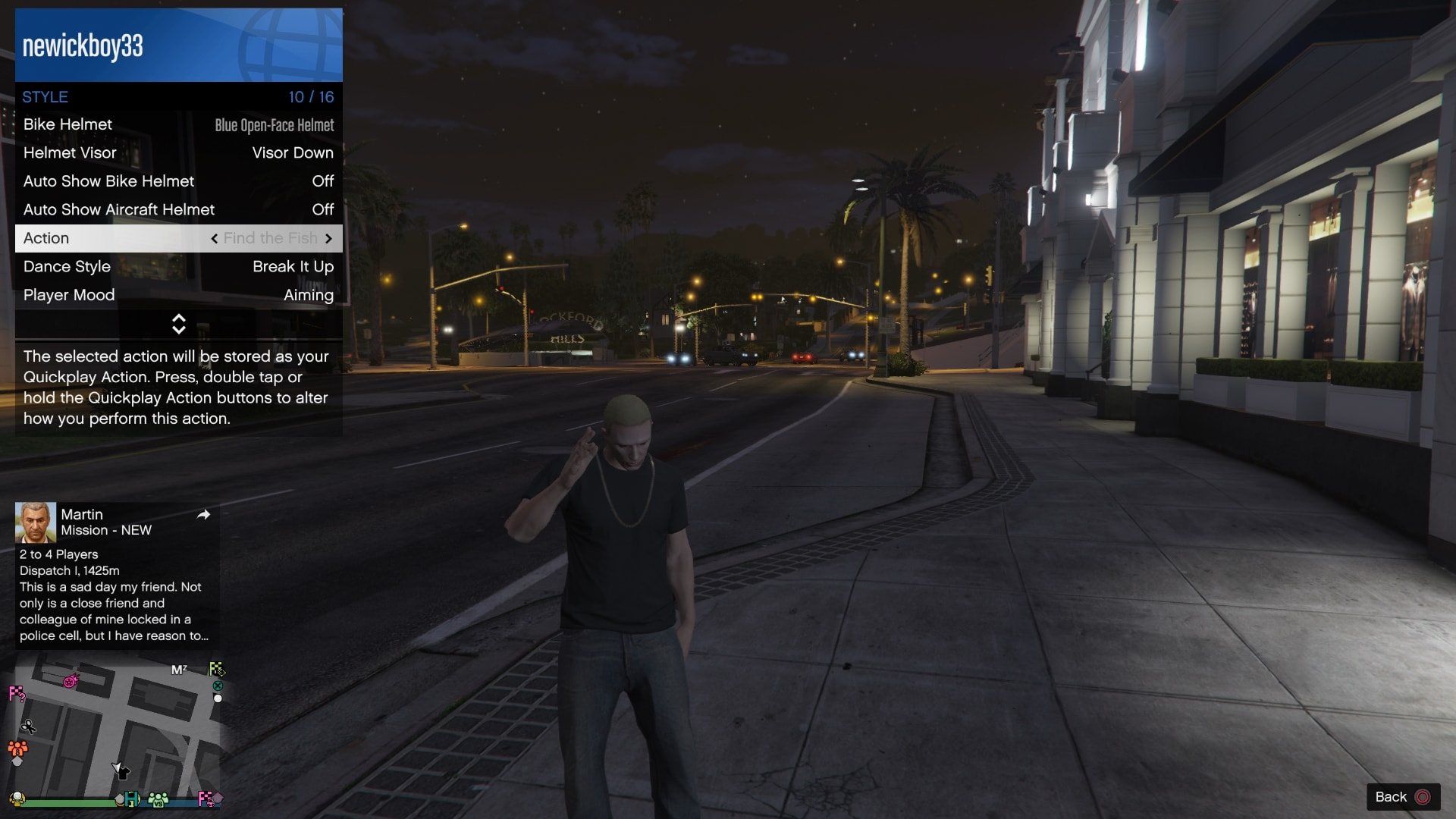 GTA After Hours New Clothing and Actions - Free Tony's