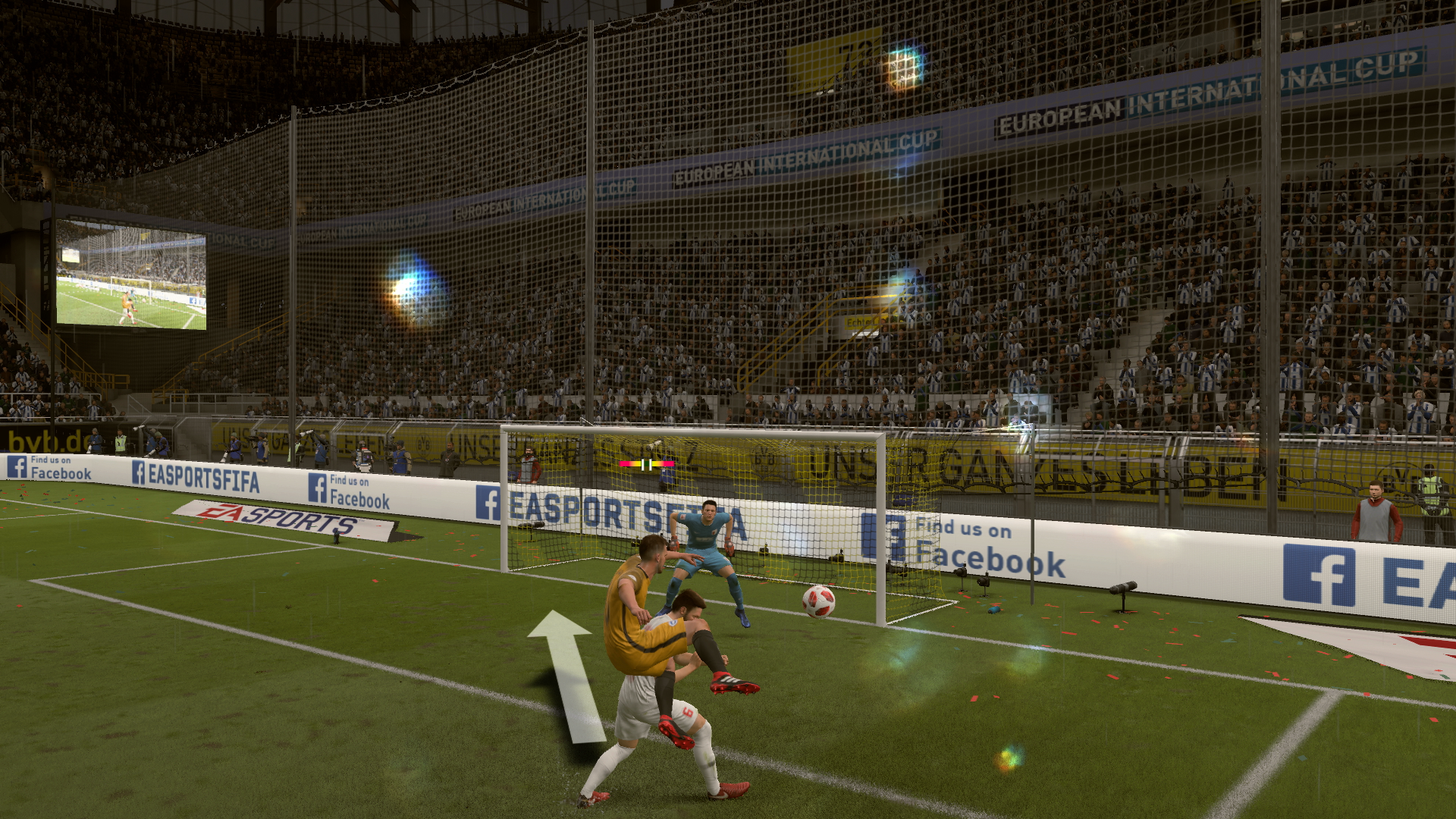 How To Score Goals In Fifa 19 Best Attacking Formation Usgamer