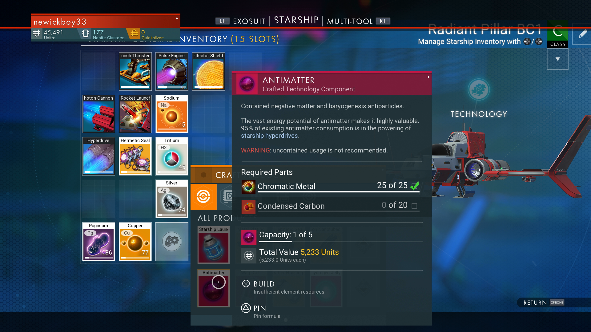 No Man's Sky Chromatic Metal - How to Craft and Get