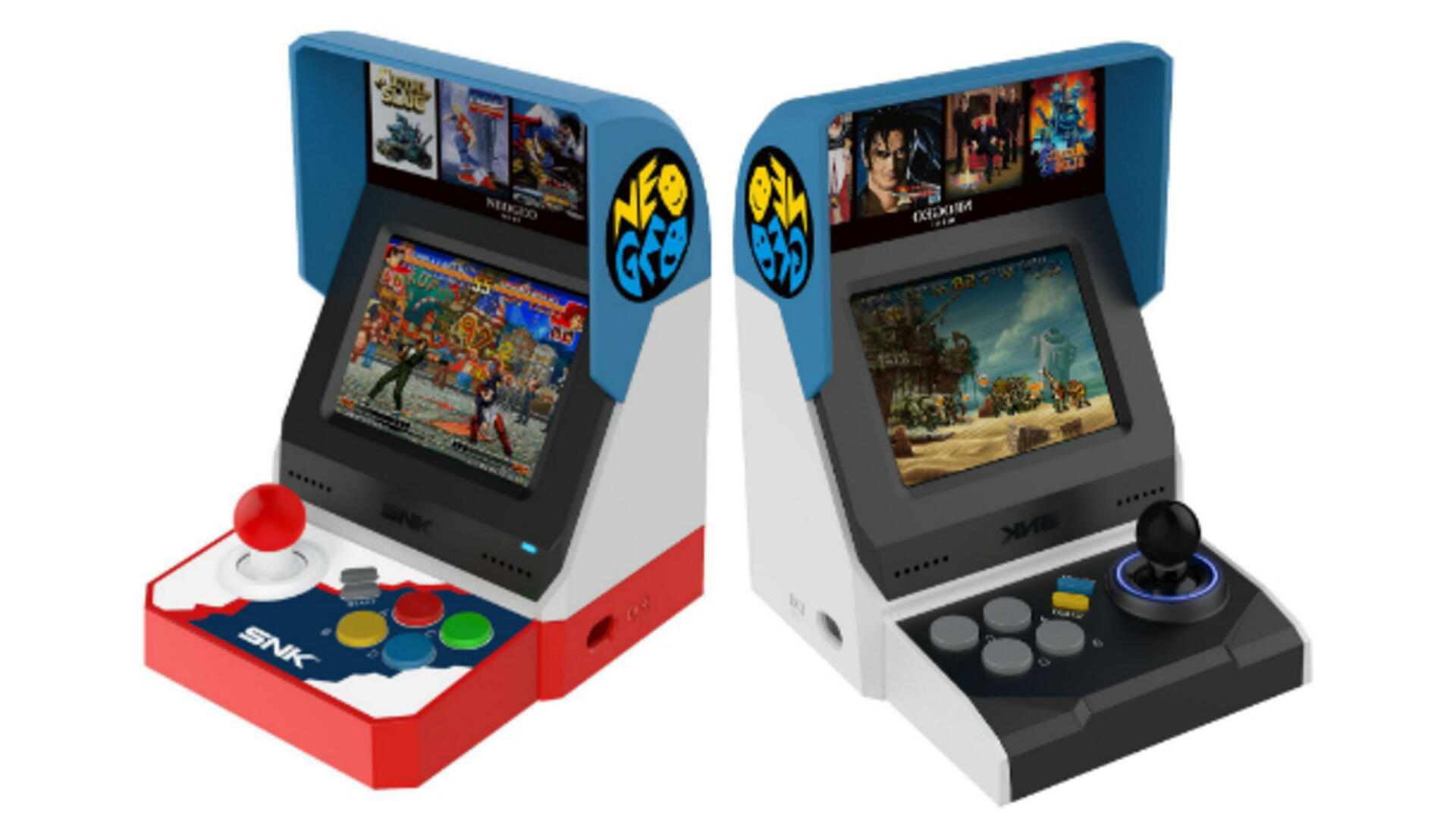 SNK Reveal Neo Geo Mini With 40 Unnamed Titles