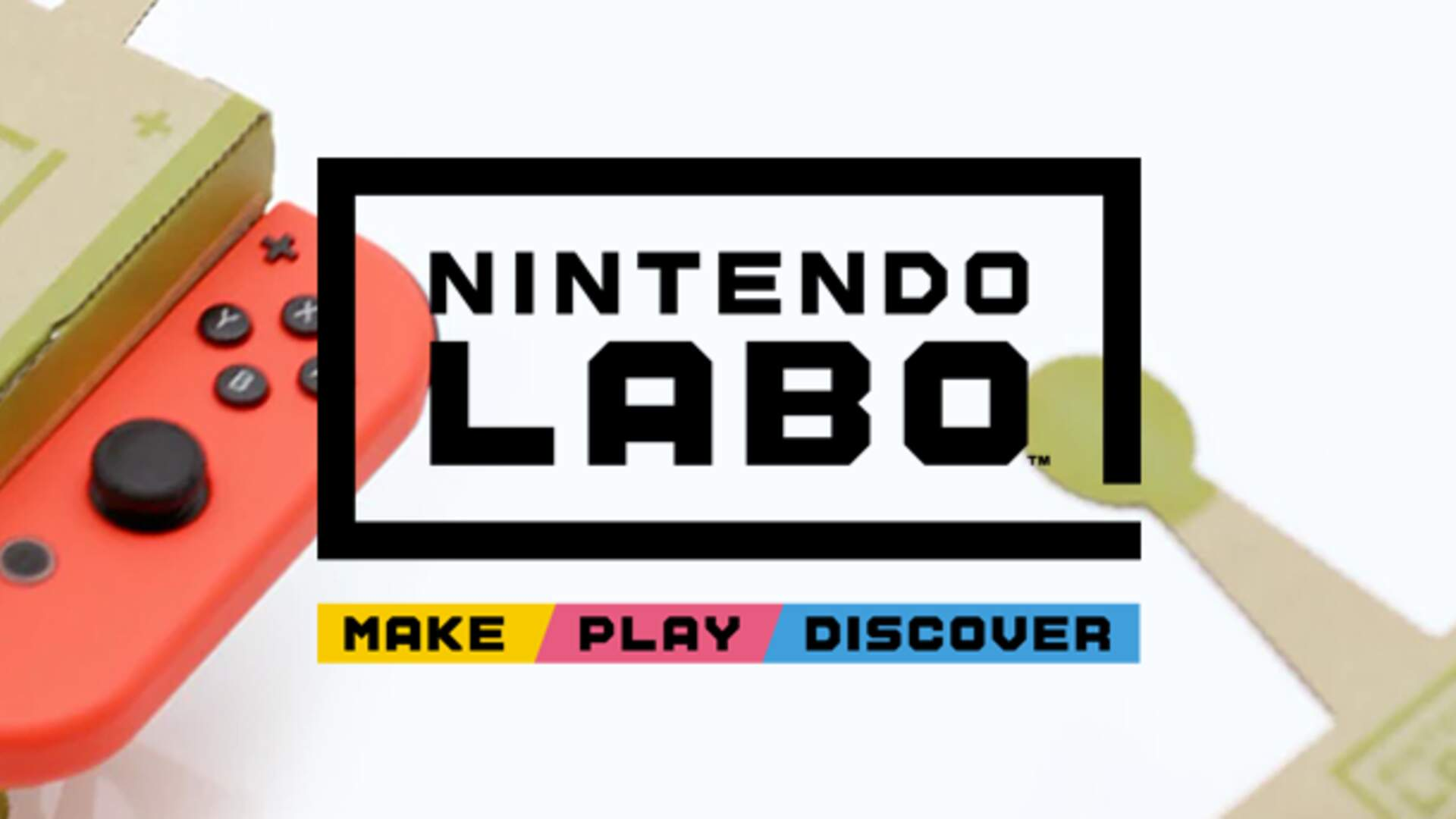 Nintendo Labo for Switch Taps Into the DIY Spirit for New Types of Play