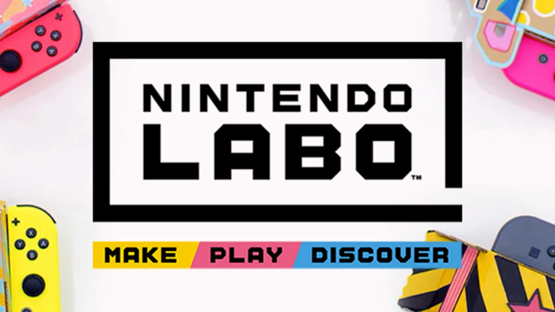 Nintendo Labo Takes Cardboard Toys to a new Level - Price, Release Date, and Games - Everything we Know