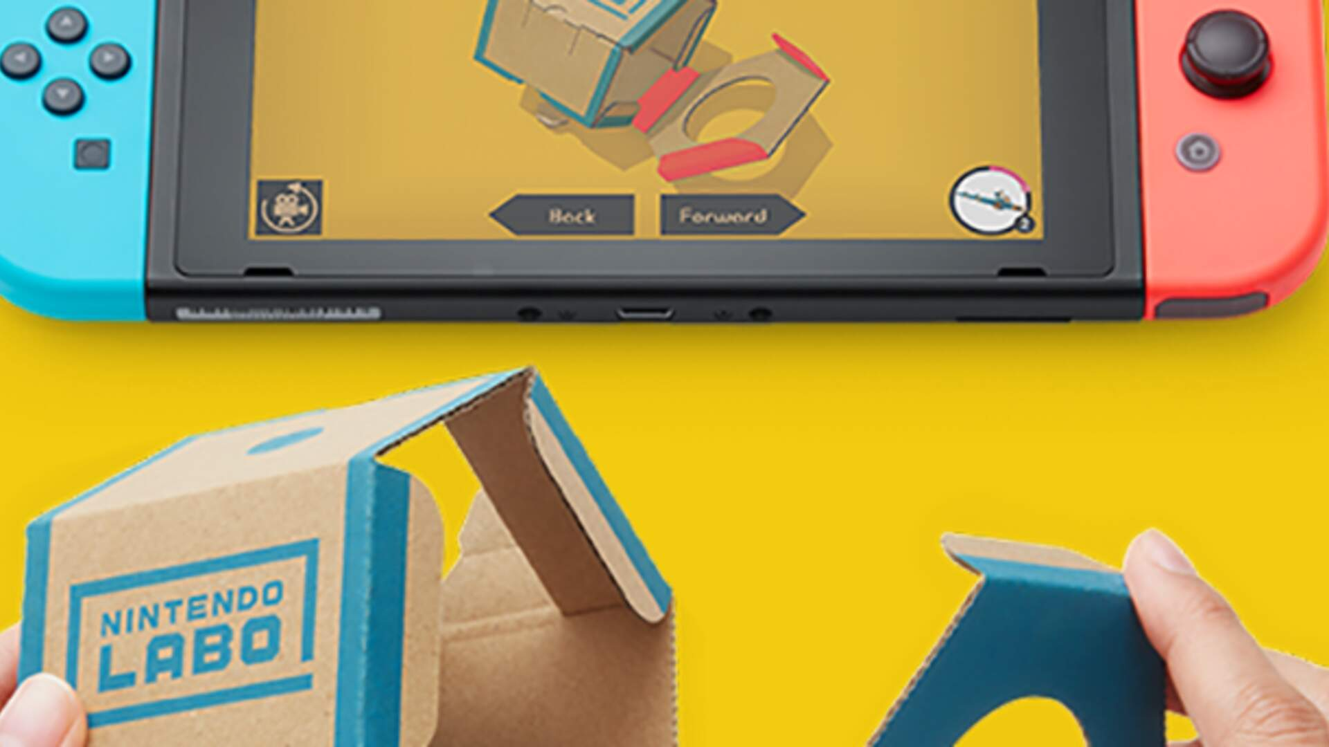 New Videos Show Nintendo Labo Is More Complex Than We First Thought