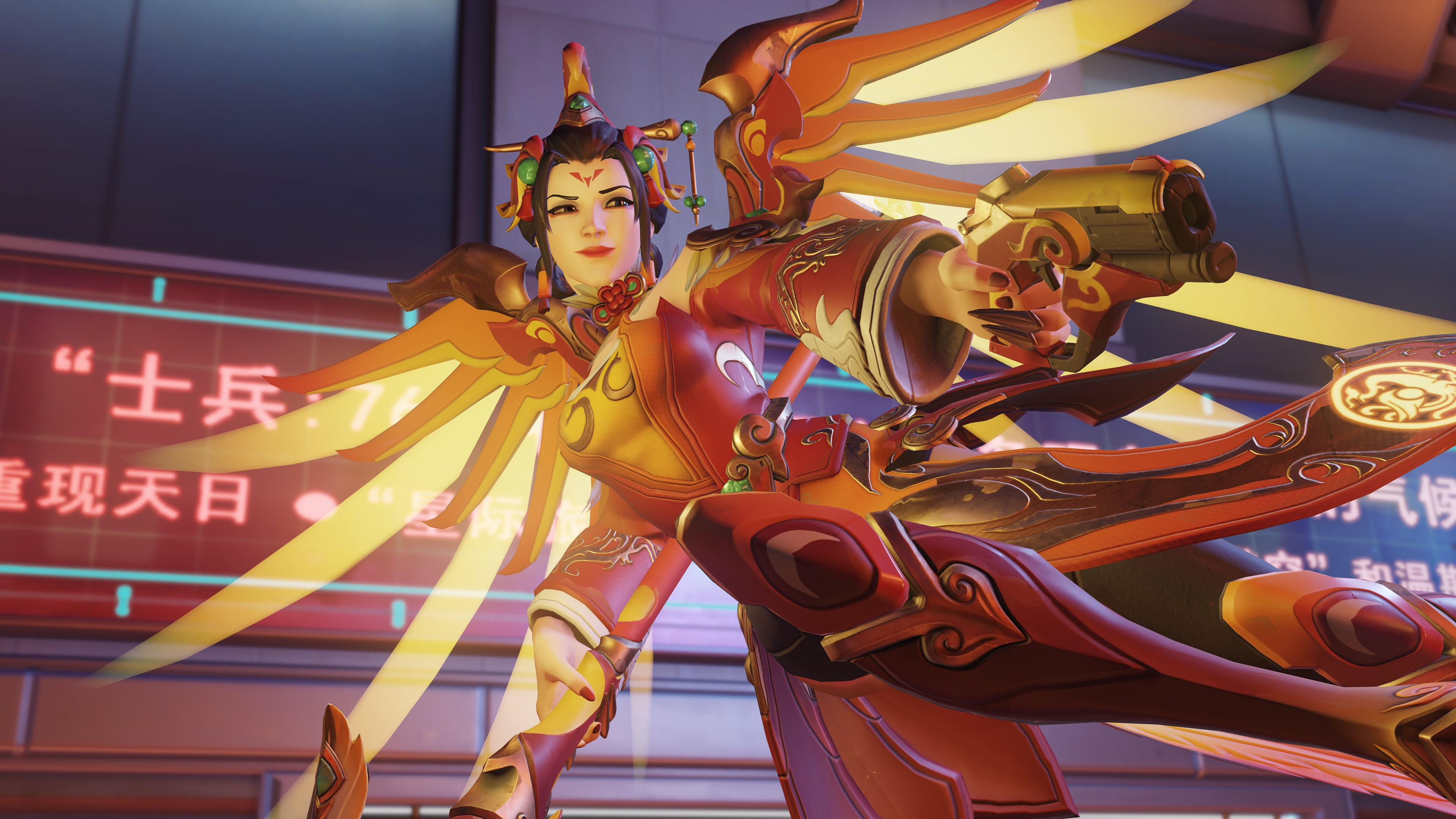 Overwatch S Lunar New Year Legendary Skins This Year Are Badass