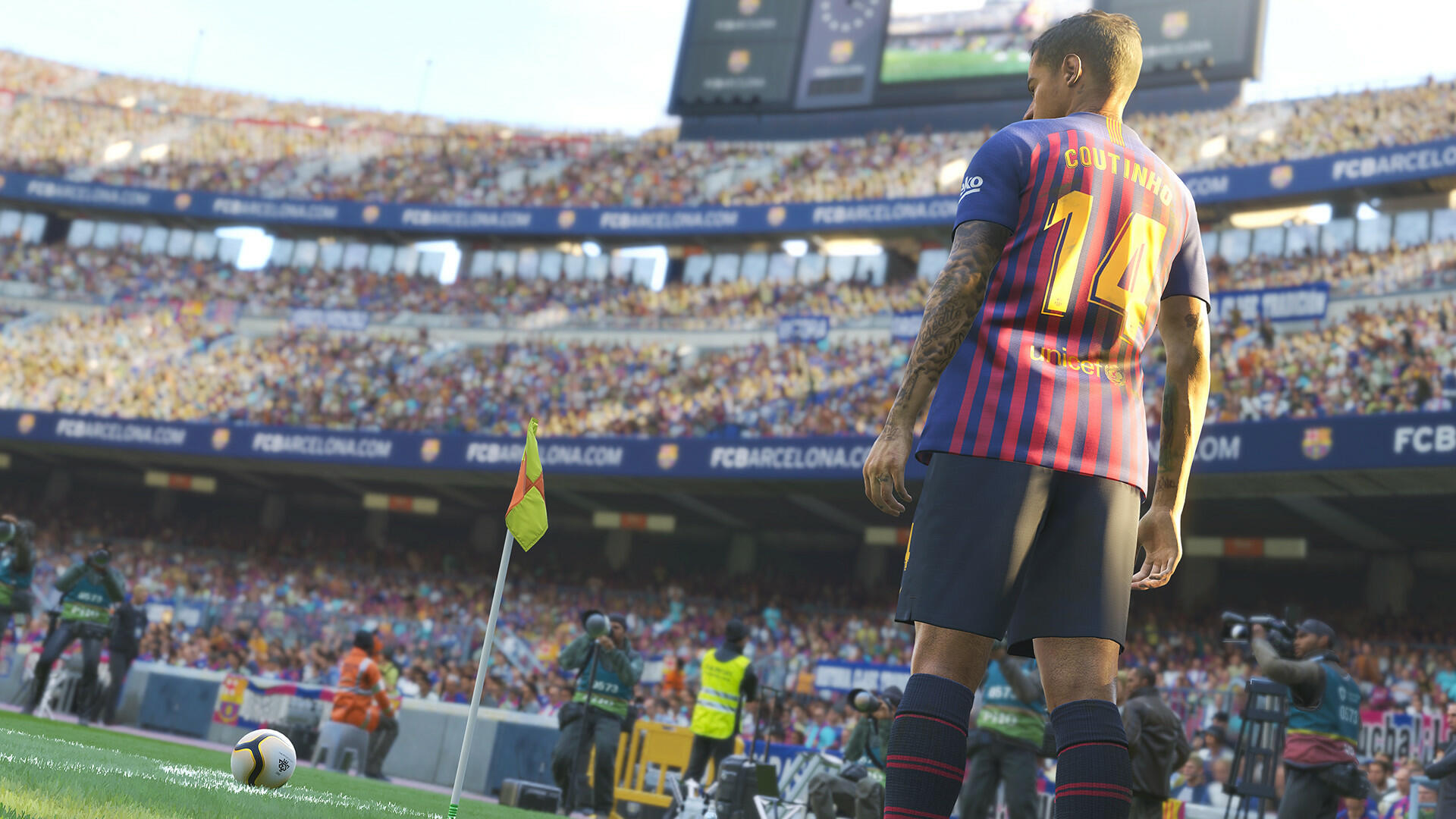Konami Says It Was Sony's Decision To Take PES 2019 Off July's PlayStation Plus Lineup