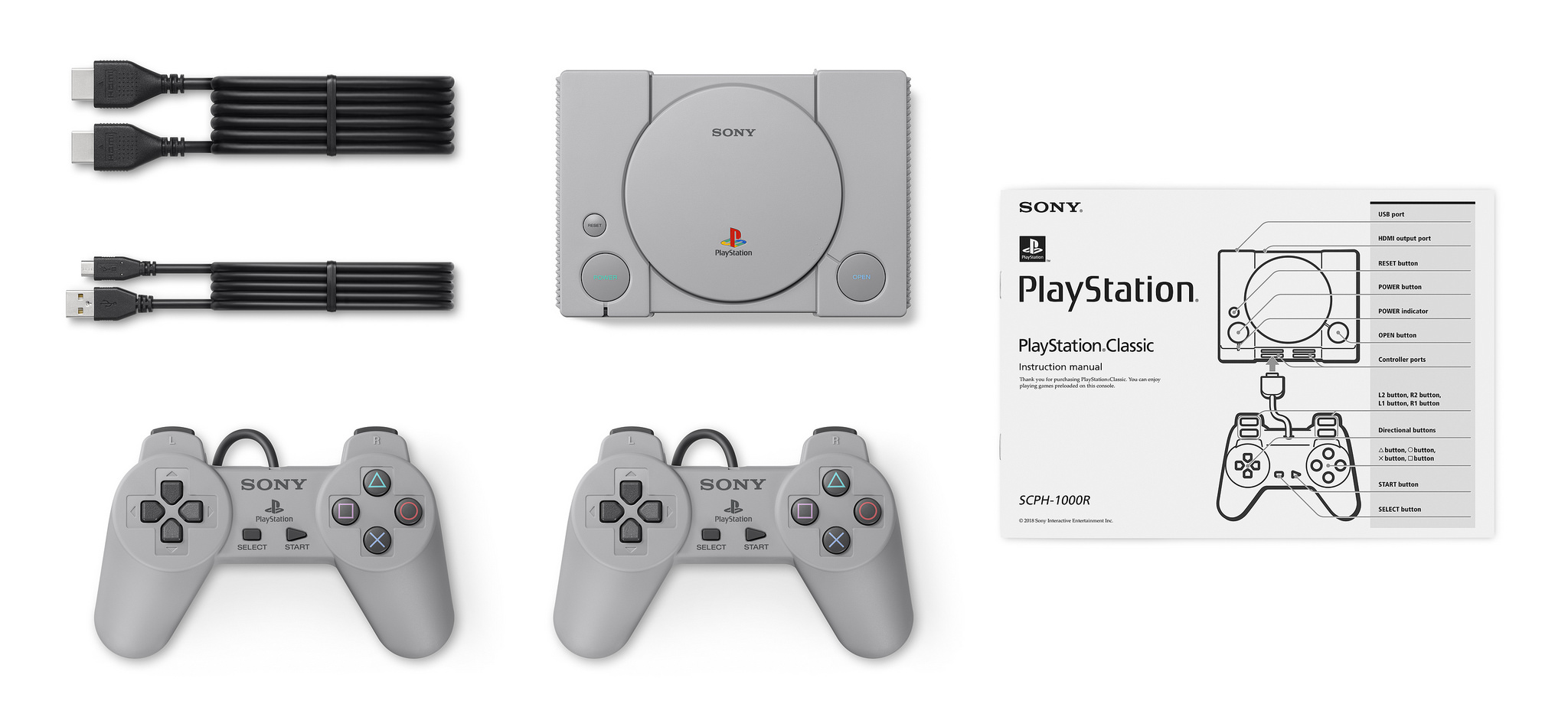 Sony Announces the PlayStation Classic Mini-Console | USgamer