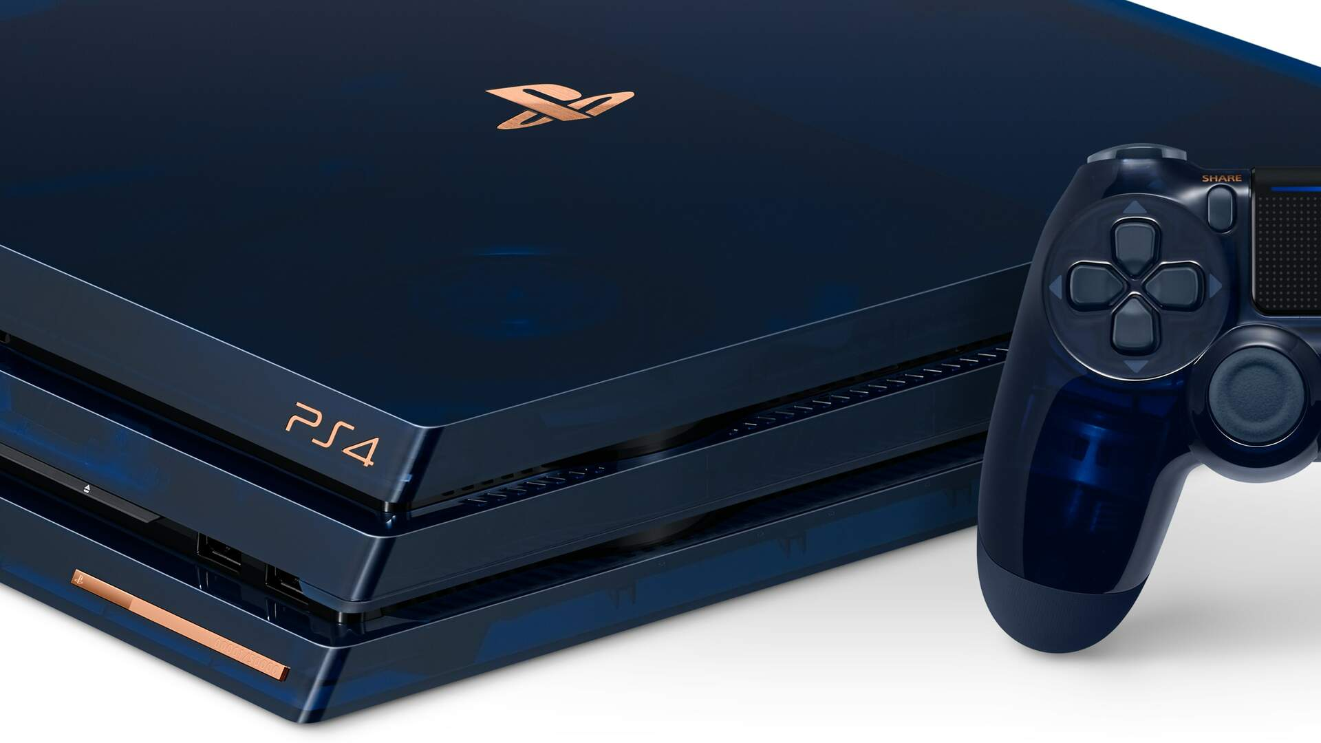 500 Million Limited Edition PS4 Pro Revealed, Features Translucent Shell