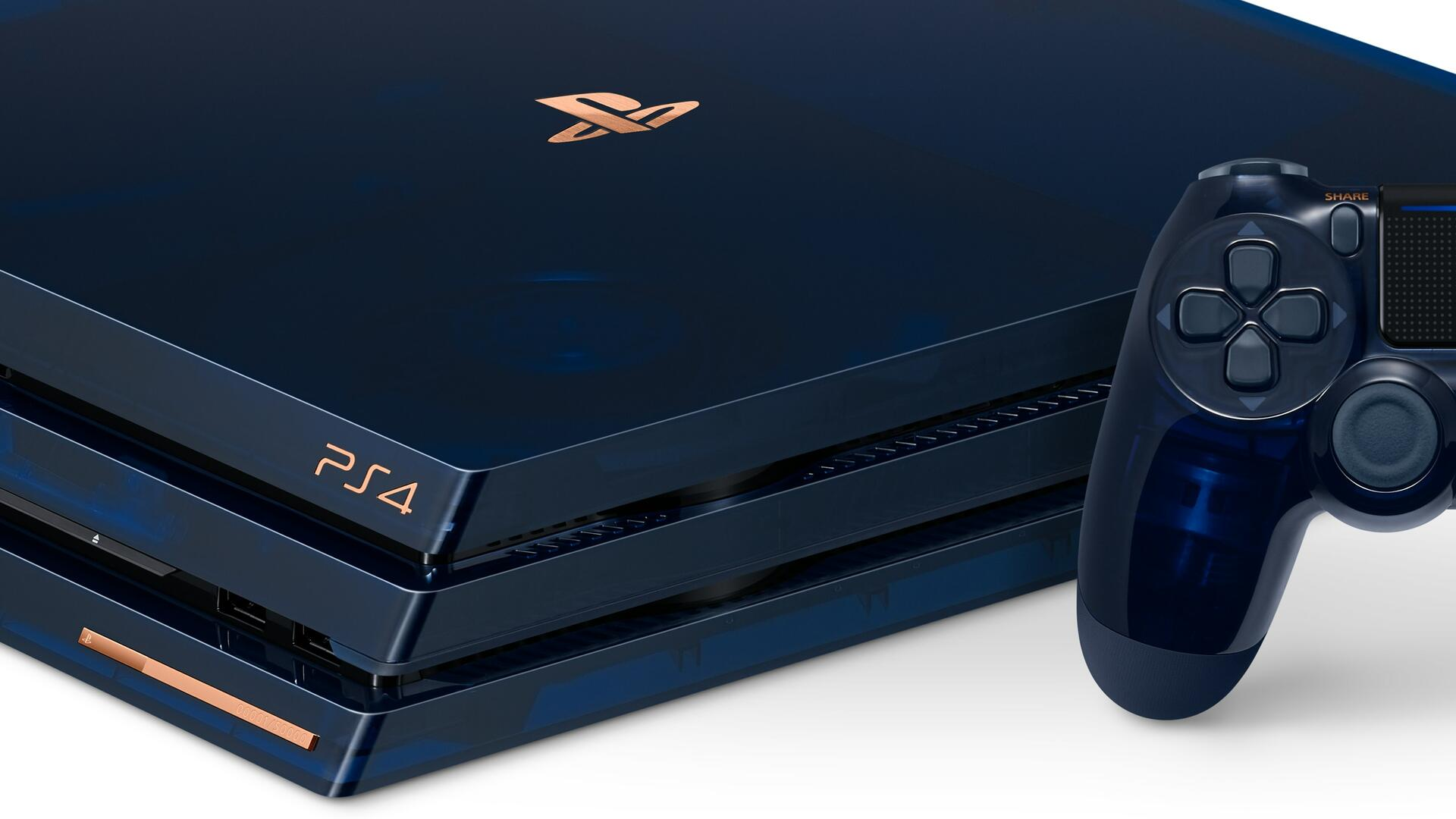 500 Million Limited Edition PS4 Pro is Available Now in US