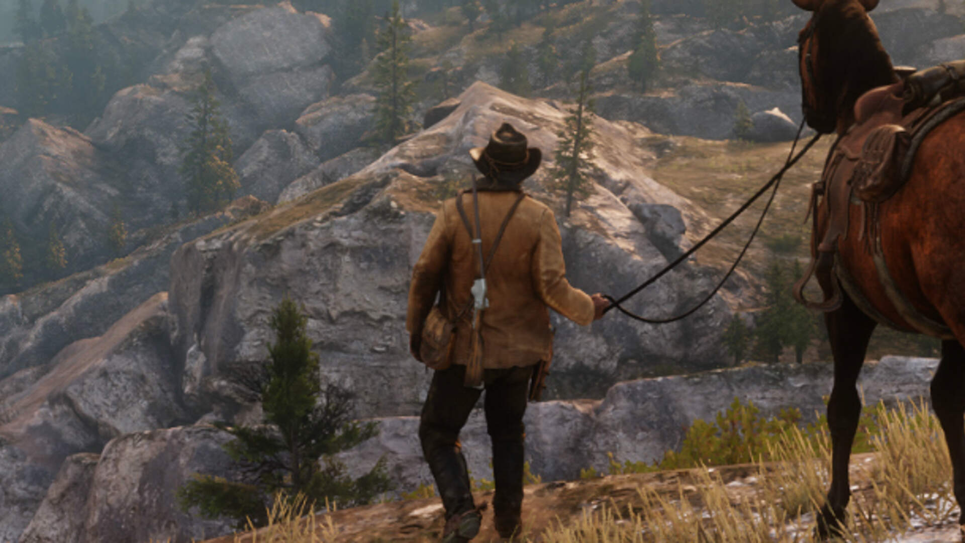 Turning off the HUD in Red Dead Redemption 2 Supposedly Makes NPCs Offer More Detailed Directions