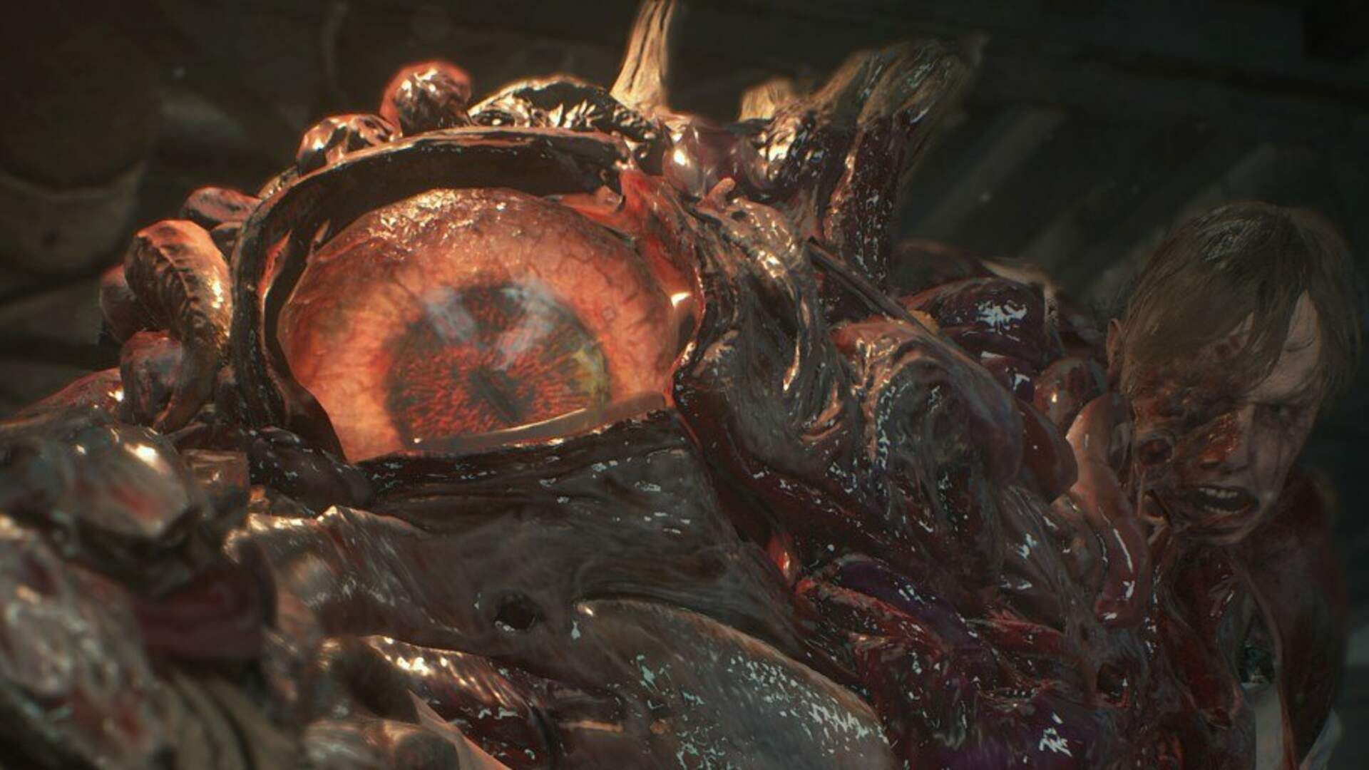 Resident Evil 2 Remake Screens Reveal Mutated William Birkin and Sherry Birkin in Claire Campaign