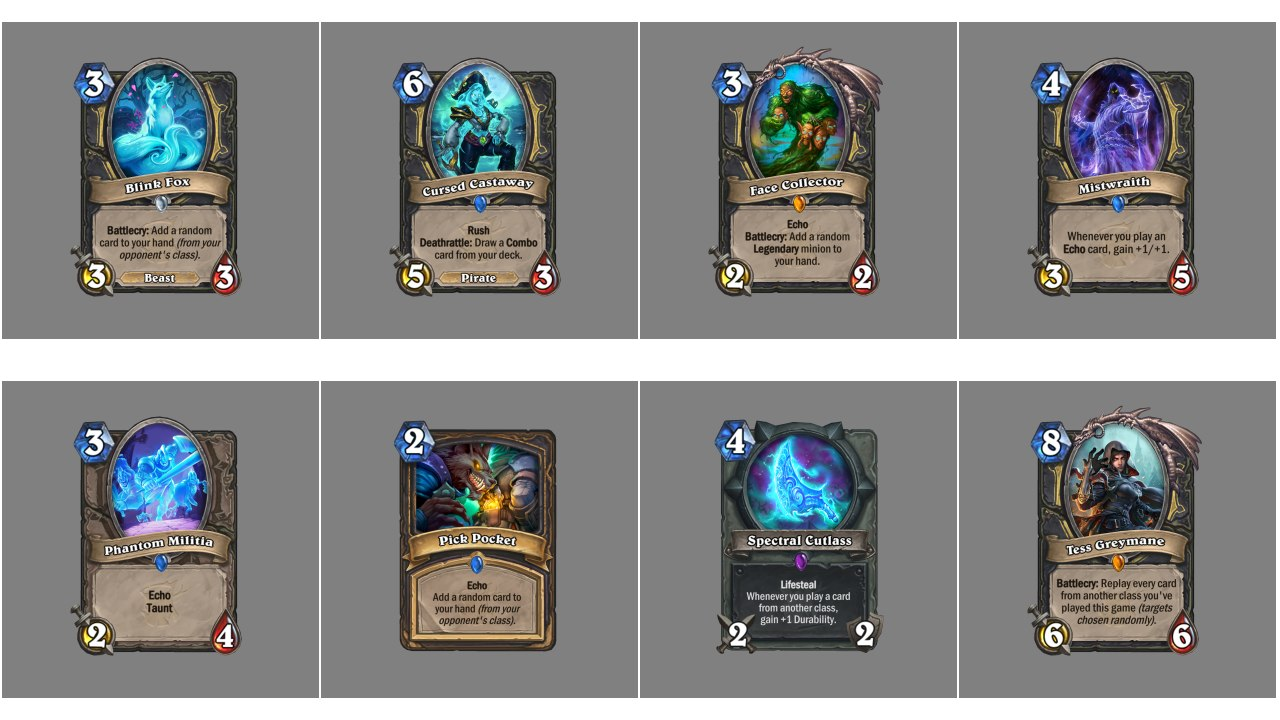 Hearthstone The Witchwood Cards, Deck Guides, Budget Deck
