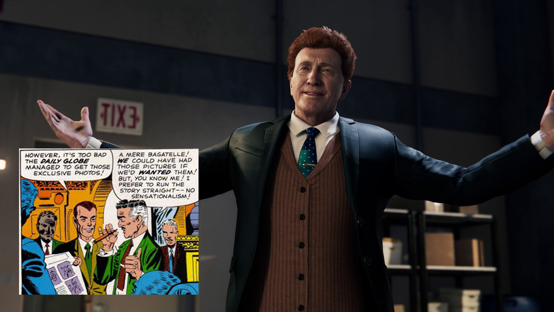 who plays norman osborn in spider man ps4