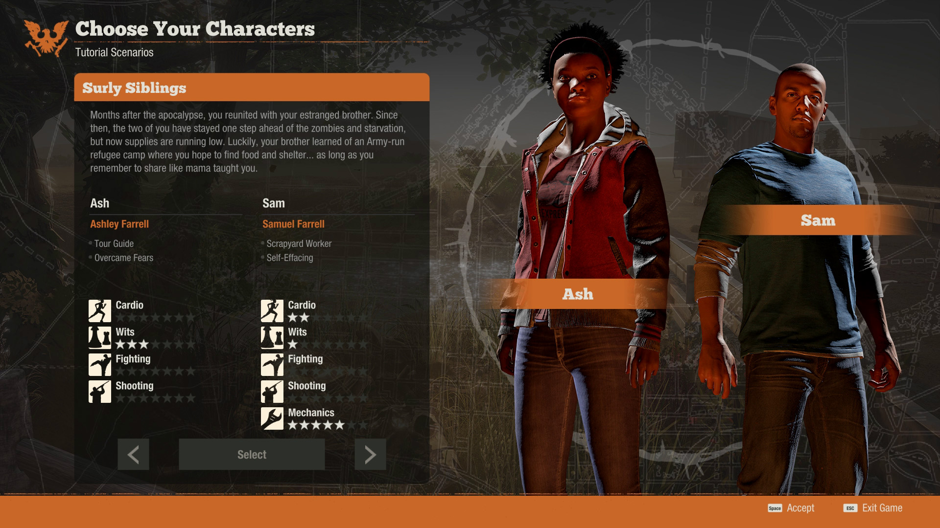 State of Decay 2 Tips - Controls Guide, How to Save, How to ... on destiny map size, red dead redemption map size, tomb raider map size, grand theft auto iv map size, sunset overdrive map size, forza horizon 2 map size, star citizen map size, just cause 3 map size, x rebirth map size, unturned map size, minecraft map size, the witcher map size, wasteland 2 map size, rage map size, deadlight map size, h1z1 map size, game of thrones map size, 7 days to die map size, open world map size, the forest map size,