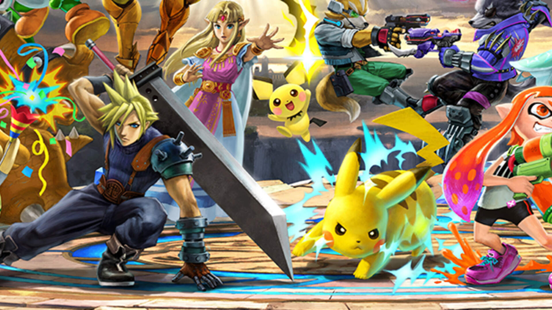 Super Smash Bros Ultimate DLC - Fighters Pass, Release Date