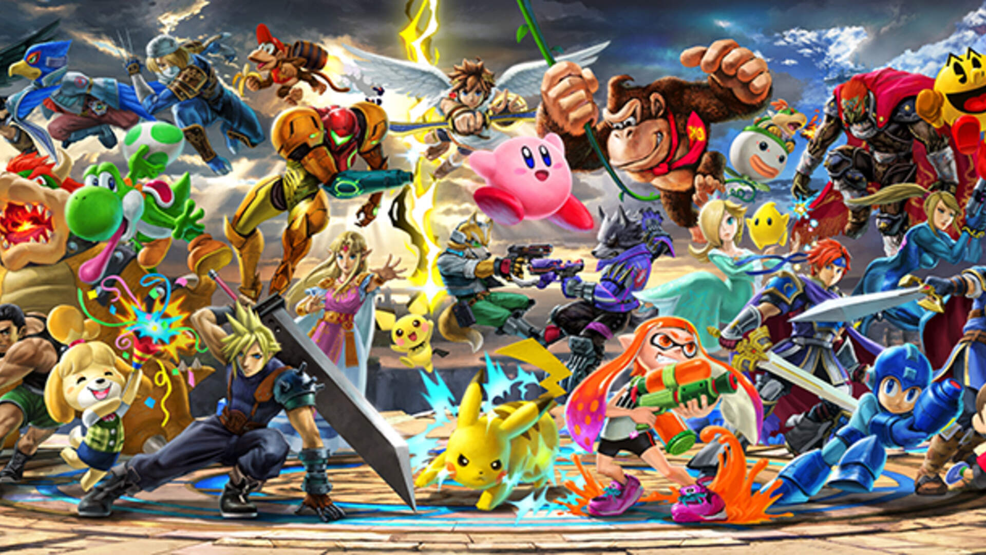 Super Smash Bros Ultimate Wallpaper Hd Saffron Photography