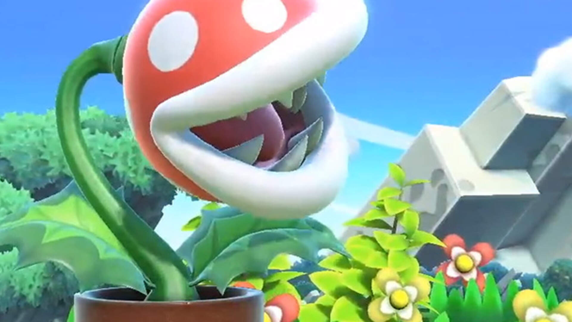 Super Smash Bros Ultimate Adds Piranha Plant, Free for a Limited Time Only