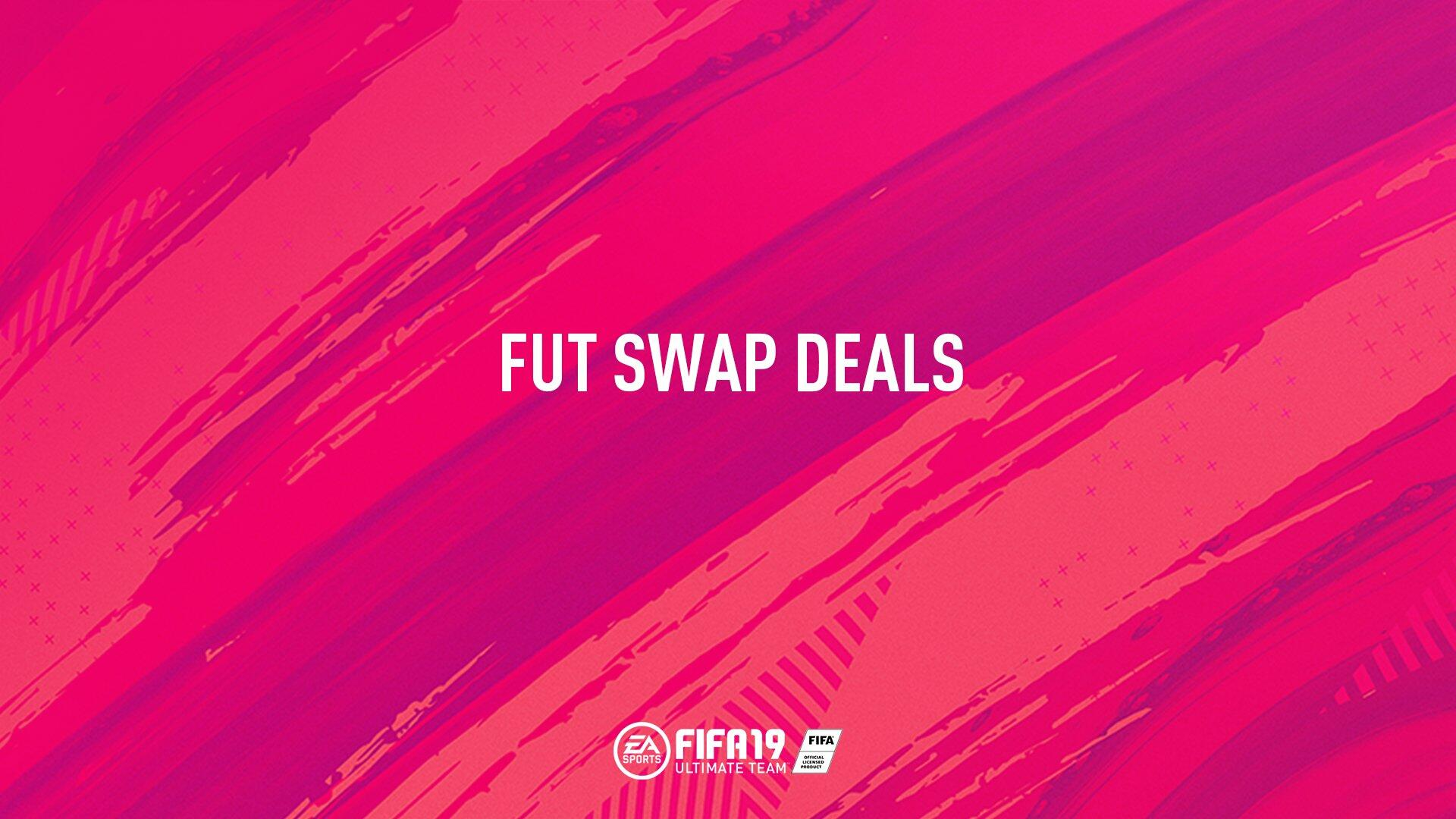 FUT Swap Items - FIFA 19 Swap Deals, Swap Player Items List January 2019