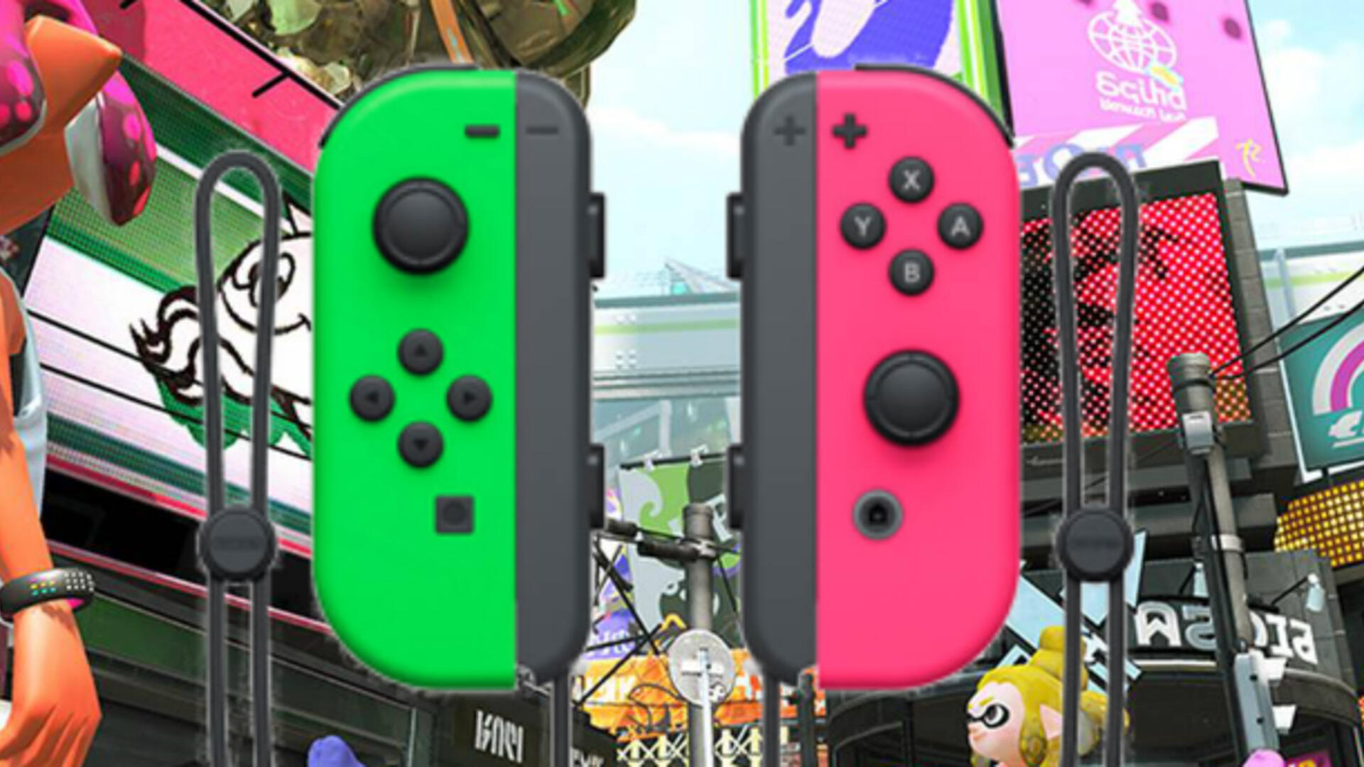 Splatoon-Themed Joy-Cons Are Coming to the United States