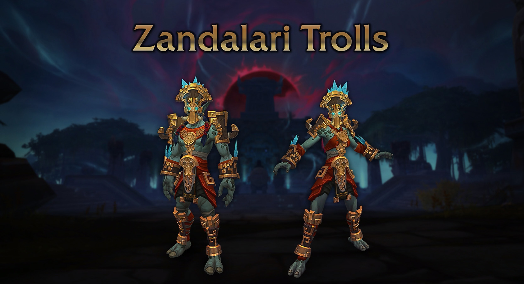 Wow Blizzcon 2018 Panel Recap Zandalari Trolls Kul Tiran Humans